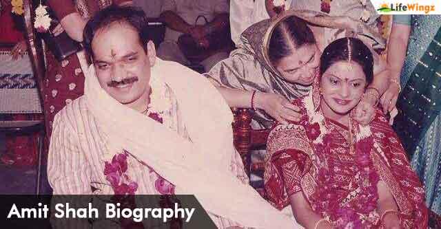 amit shah wife