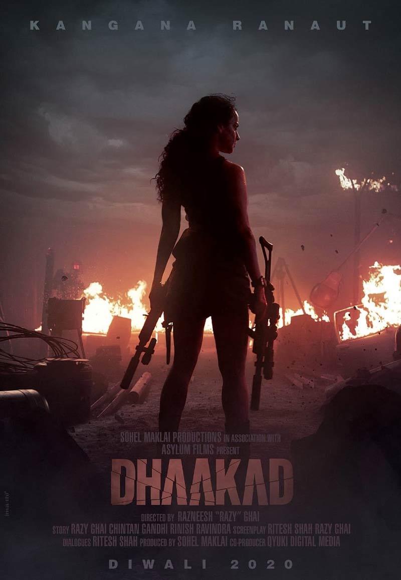 Dhaakad movie