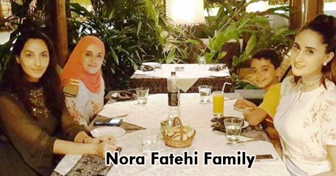 nora fatehi family