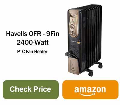 havells room heater