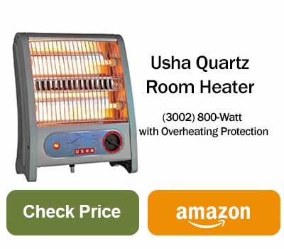 usha room heater price